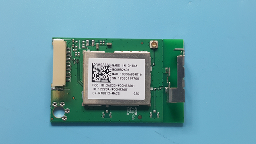 TCL 07-RT8812-MA2G Wi-Fi Wireless Internet Board