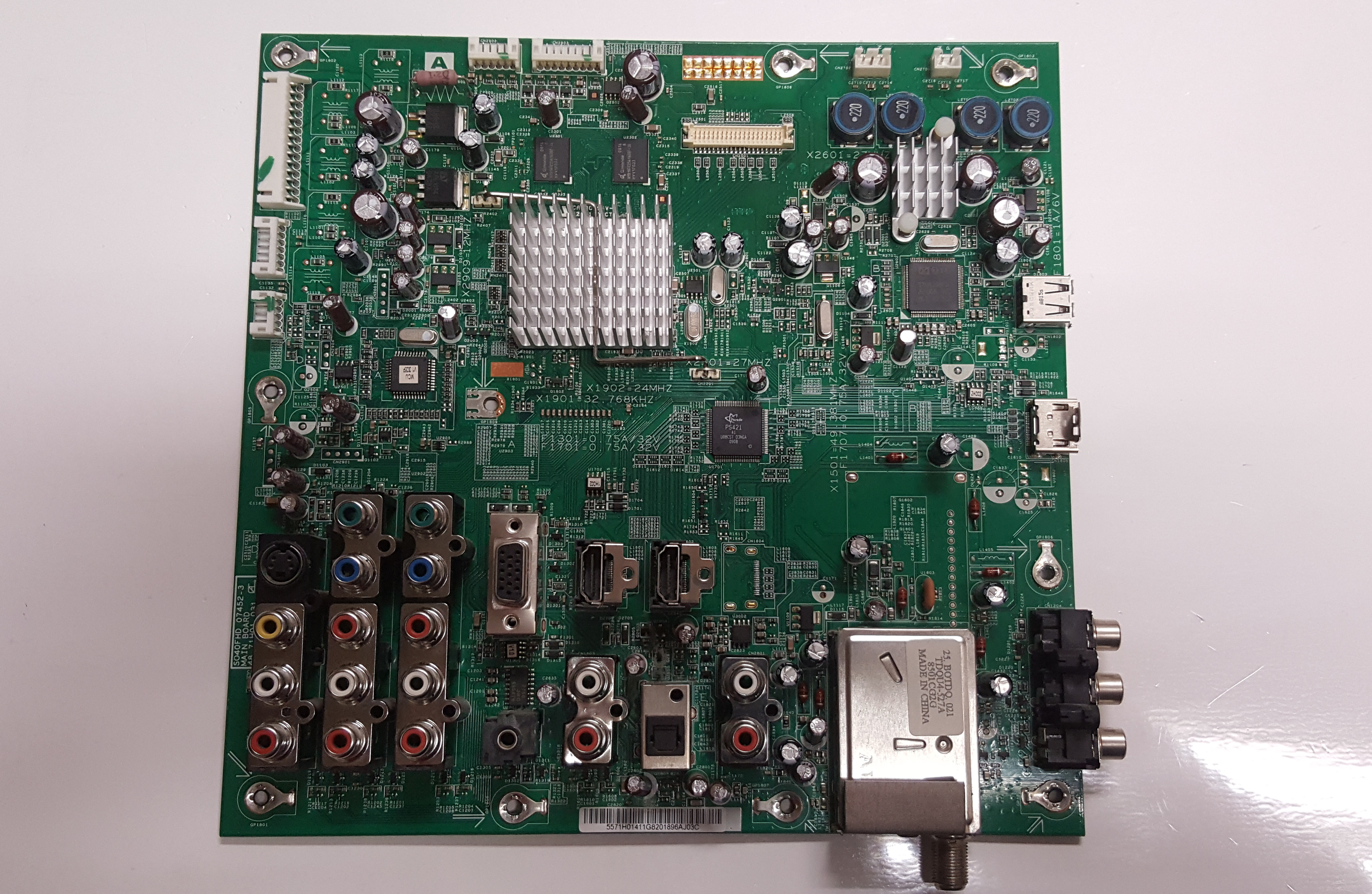 Sony 1-857-092-21 (55.71H01.411G) Main A Board for Sony KDL-46S4100