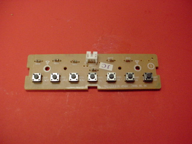 Insignia NS-32LCD Function Switch PCB Key Controller 782.32fb26-0500