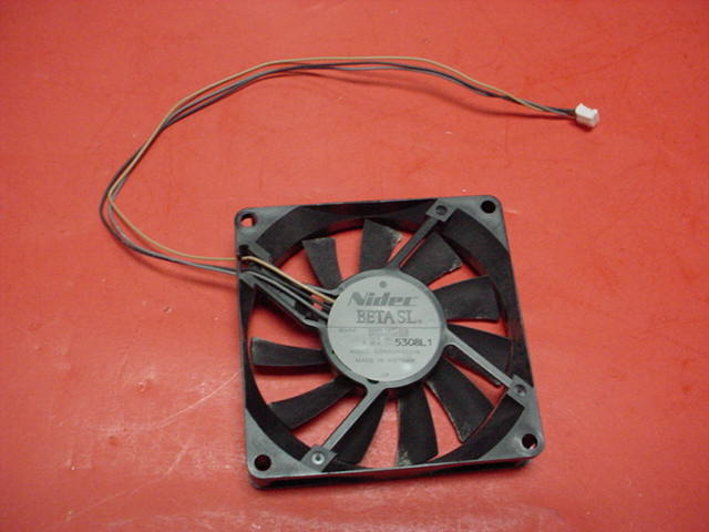 Sharp Aquos TV LC45GD4U COOLING FAN PN: D08R-12TL 01B