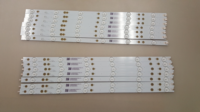 Philips GJ-2K16-490-D712-P5-R/L LED Backlight Strips (14)