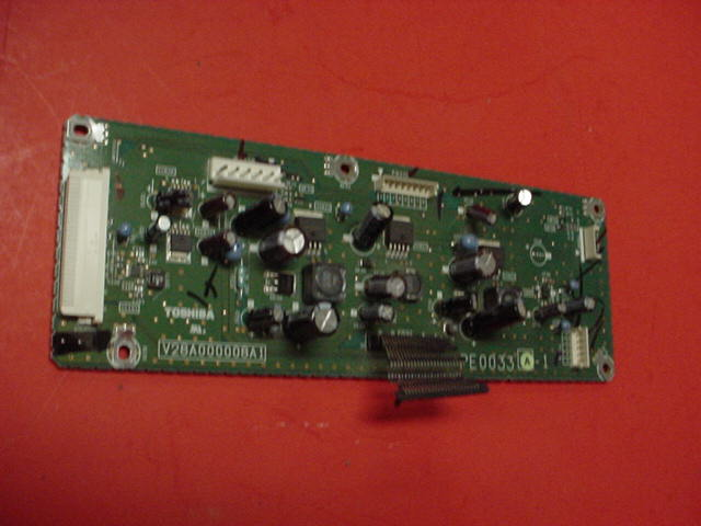 Toshiba 56HM66 PCB SwitchING Board PN: PE0033A-1 V28A000008A1