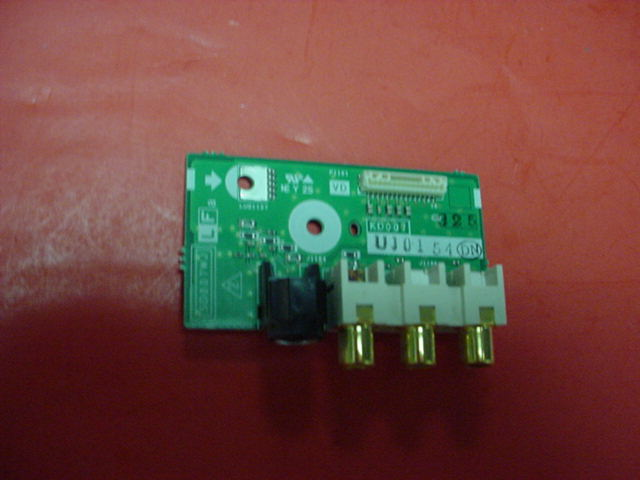 Sharp Aquos TV LC45GD4U INPUT PCB INTERFACE BOARD PN: UJ0154 SD007WJ