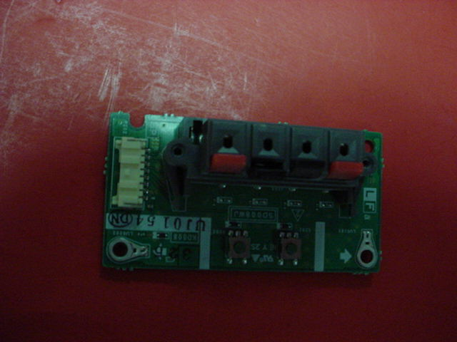 Sharp Aquos TV LC45GD4U SPEAKER OUTPUT PCB BOARD PN: UJ0154 SD008WJ