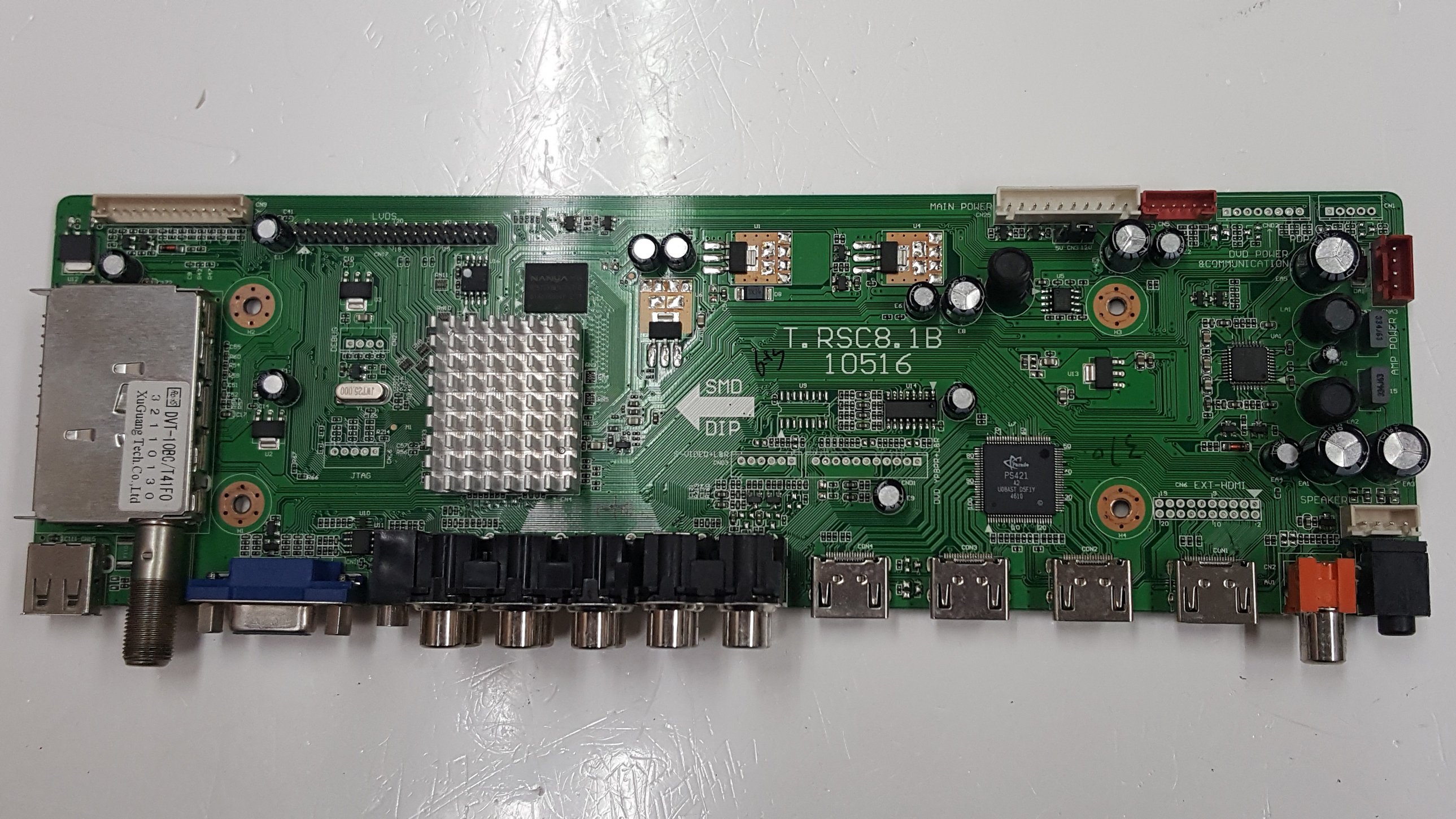 RCA 46RE01TC81XLNA0-B1 LCD Main Video Board Motherboard