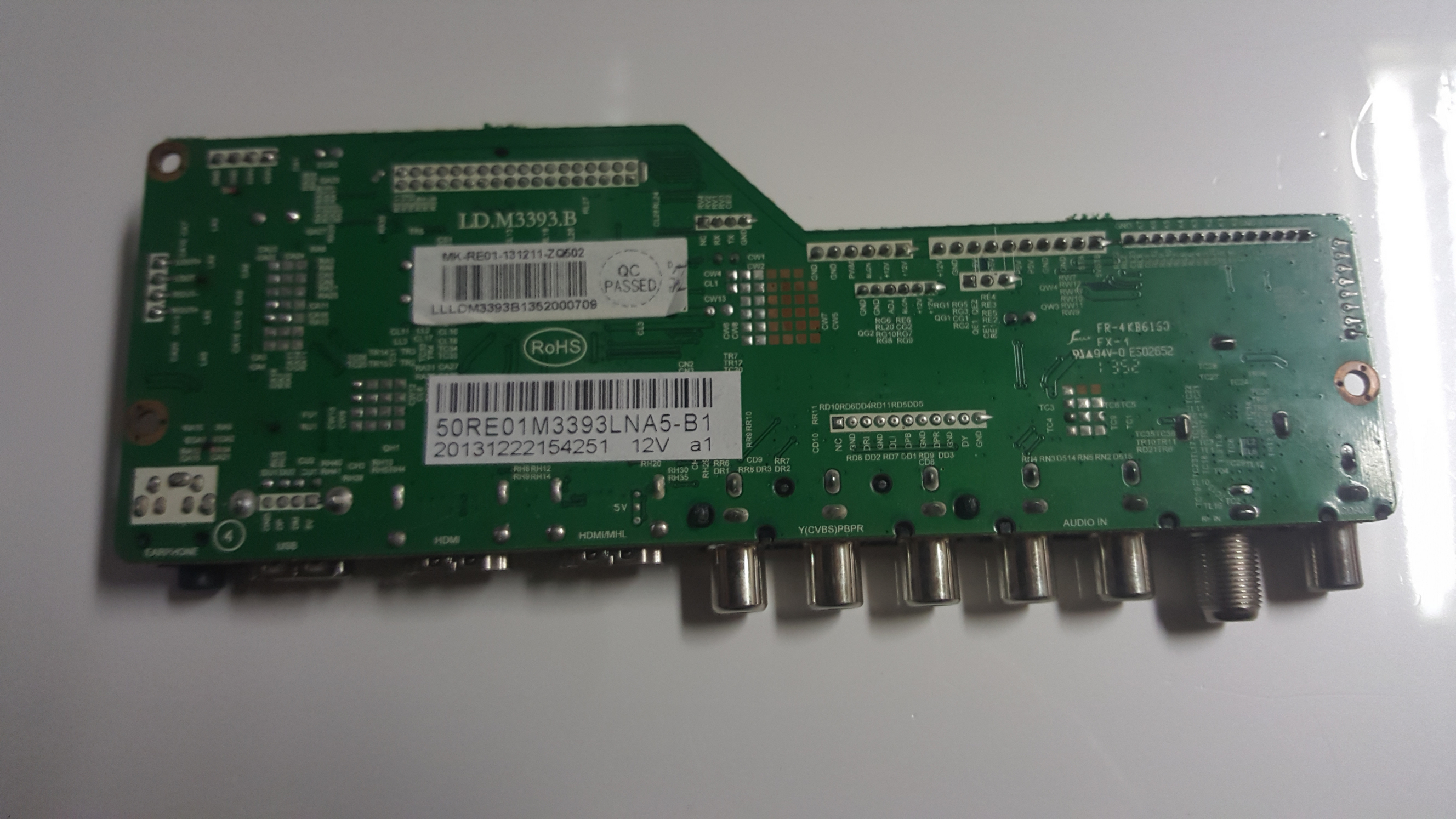 RCA 50RE01M3393LNA5-B1 Main Board for LED50B45RQ