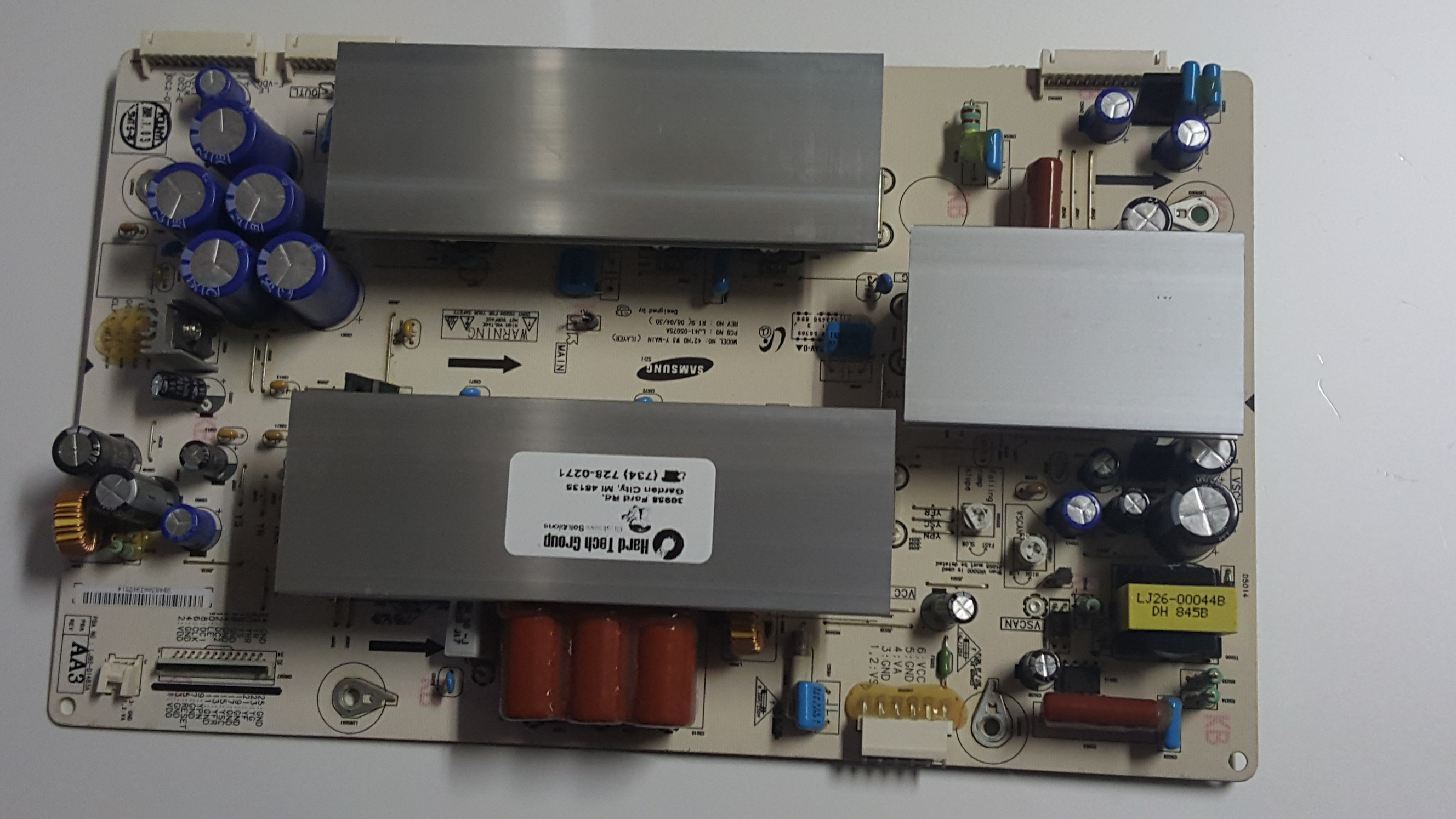 Vizio Vp422 Y Sustain Main Board PN: Lj41-05075a