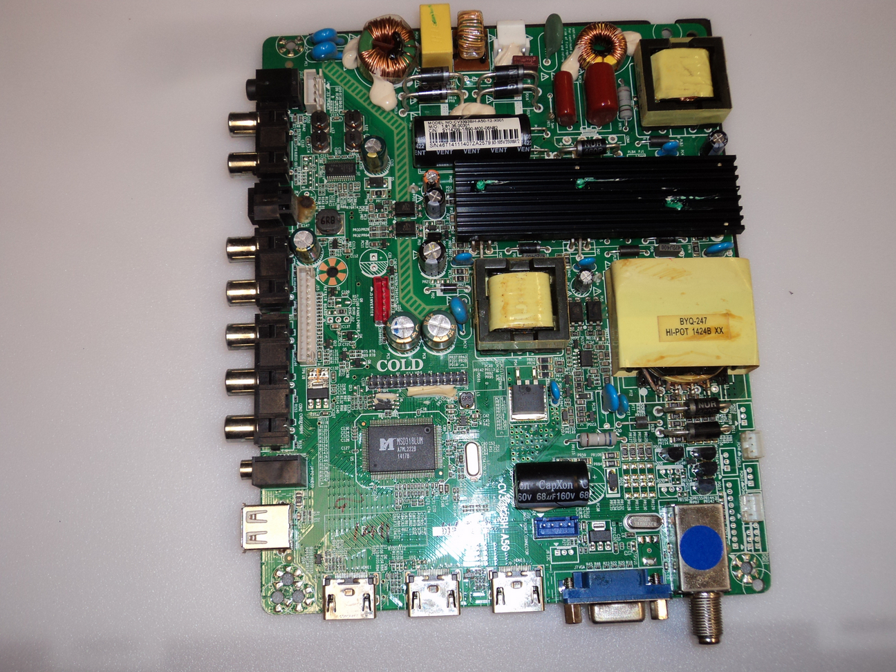 Element SY14299-1 Main Board / Power Supply for ELEFW504A